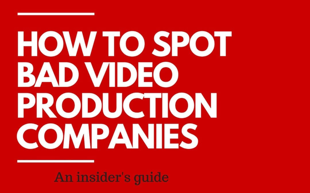 What to Look Out For When Choosing a Video Production Company