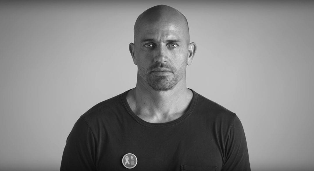 Kelly Slater Video for Kering's #BeHerVoice Campaign