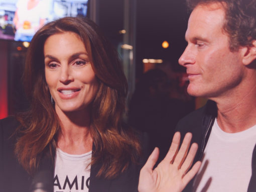 Umami Burger Artist Series x Cindy Crawford Launch Party Instagram Video