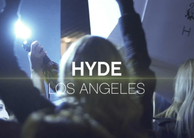 Hyde Nightclub at the Mondrian Hotel West Hollywood