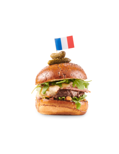 The Frenchie Burger Commercial Photography