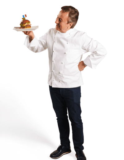 Chef Daniel Boulud Commercial Photography for Umami Burger