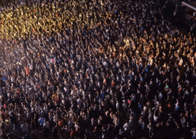 Crowd Shot for SESAC Brand Video Production in Los Angeles